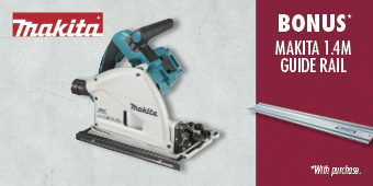 MAKITA 36V (2X 18V) BRUSHLESS PLUNGE CUT SAW SKIN DSP600Z