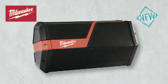MILWAUKEE M18/M12 BLUETHOOTH JOBSITE SPEAKER SKIN M12–18JSSP–0