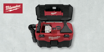 MILWAUKEE 18V WET/DRY VACUUM SKIN HD18VC–0