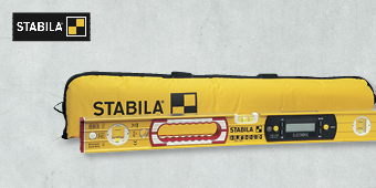 STABILA 600MM ELECTRONIC LEVEL ST196–2–E–600