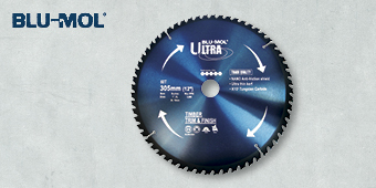 BLU–MOL ULTRA 305MM 60T CIRCULAR SAW BLADE BLU530–30560