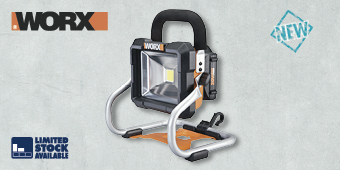WORX 20V LED WORK LIGHT KIT WX026