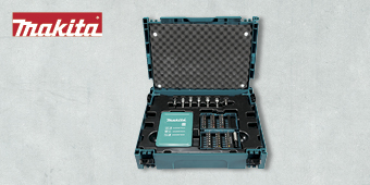 MAKITA MAKPAC DRILL & SCREW BIT 62PCE KIT B–53148