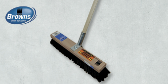 BROWNS 600MM JAVA PLATFORM BROOM