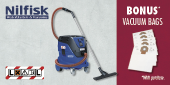 NILFISK 33L M CLASS DUST EXTRACTOR WITH INFINI CLEAN ATTIX 33–2M IC