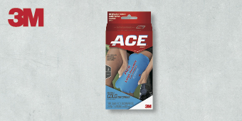 3M ACE SUPPORT ADJUSTABLE BRACES ONE SIZE REUSABLE COLD COMPRESS