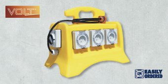 VOLT 6 OUTLET TEMPORARY POWER SUPPLY SITE BOX