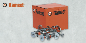 RAMSET LWU75 DRIVE PIN 100 BOX