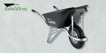 GREENS EZIPOUR BOLTFREE WHEELBARROW 72L