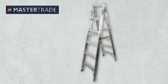 MASTERTRADE 6 STEP ALUMINIUM DUAL PURPOSE LADDER AA63–205