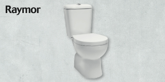 RAYMOR CLASSIC CLOSED COUPLED TOILET SUITE