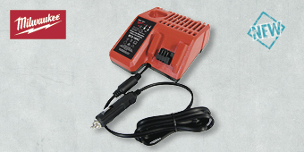 MILWAUKEE IN CAR BATTERY CHARGER M12-18AC