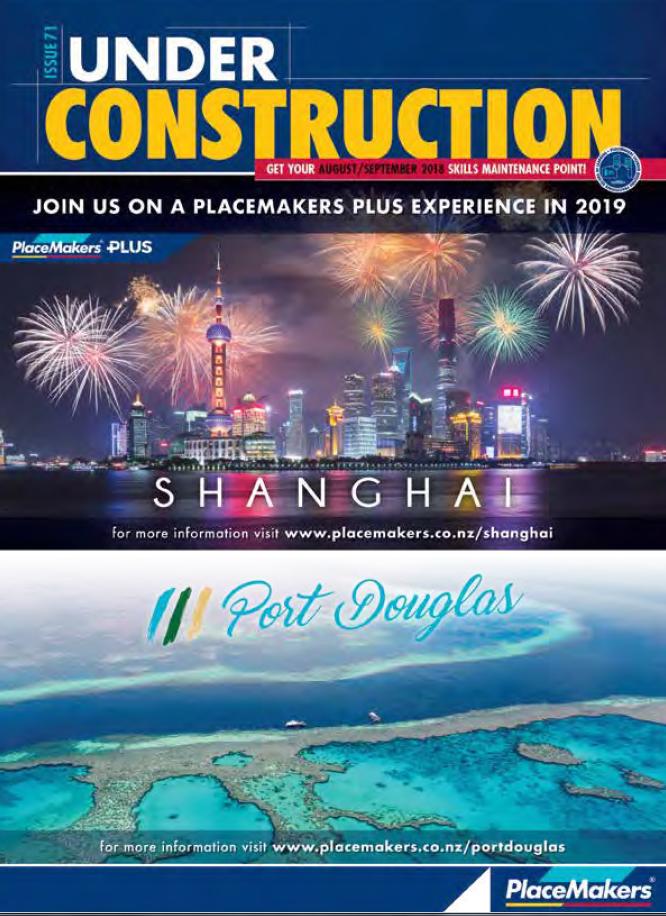 Under Construction August/September 2018