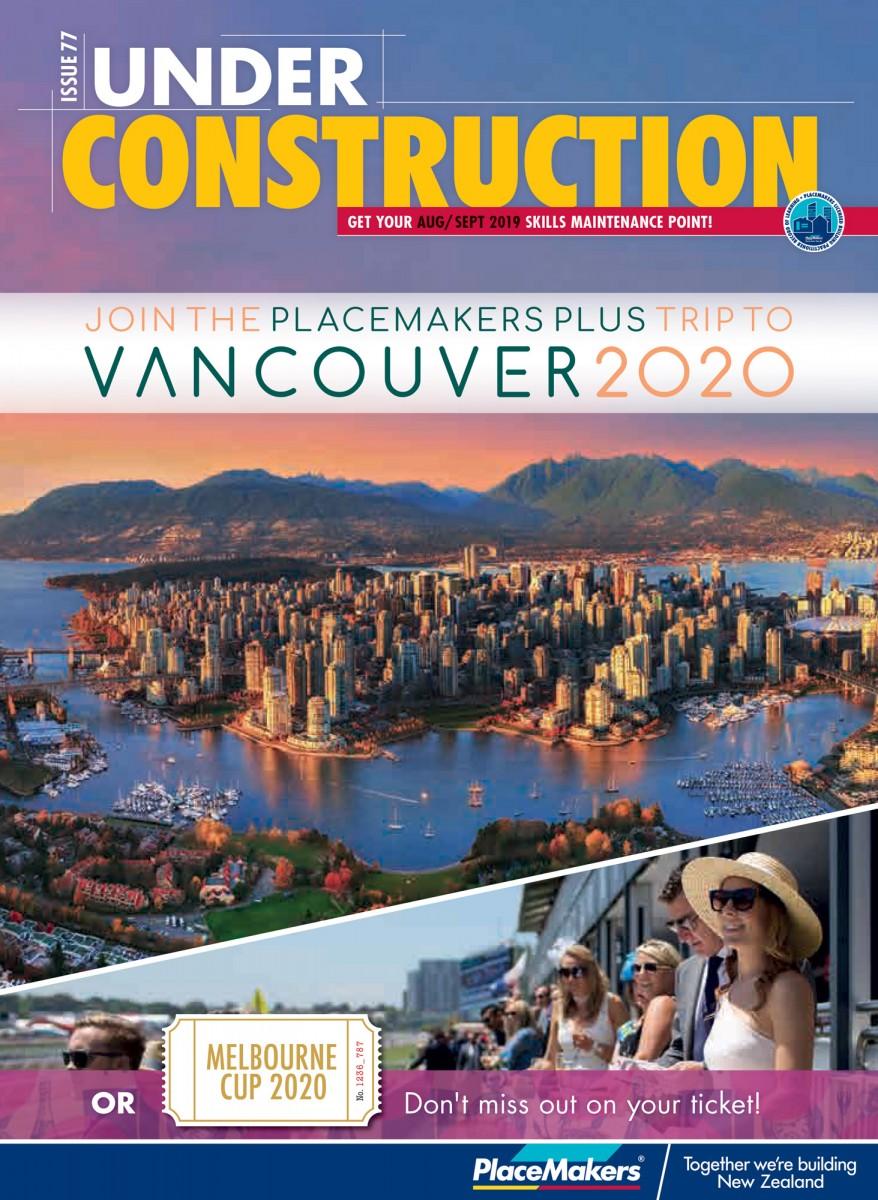 Under Construction August/September 2019