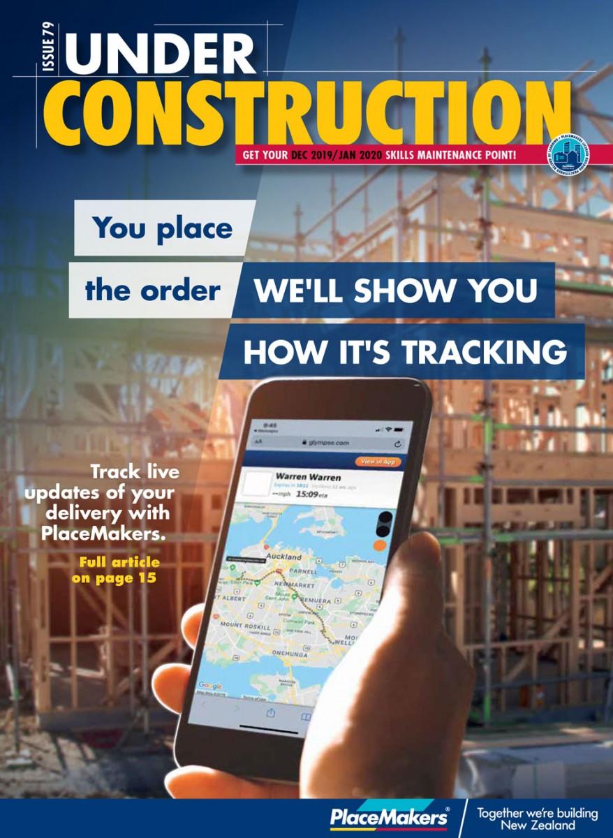 UNDER CONSTRUCTION DECEMBER/JANUARY 2019